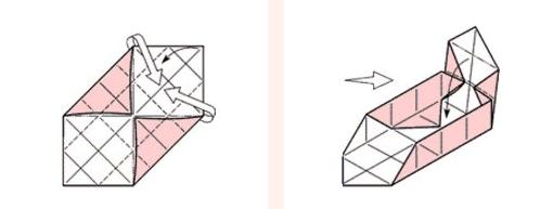 1469616224_korbka-iz-bumagi-2-sposob-5 Как сделать коробку из бумаги своими руками, с крышкой, оригами, без клея