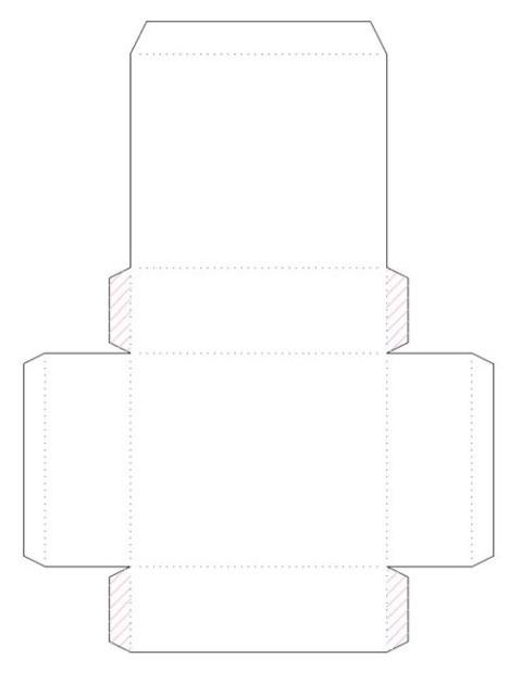 1469616245_korbka-iz-kortona-1-sposob-1 Как сделать коробку из бумаги своими руками, с крышкой, оригами, без клея
