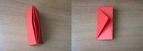 1469718700_perviy-sposob-7 Как сделать из бумаги кошелёк, портмоне, конверт для бумажных денег и мелочи своими руками? Как сделать волшебный кошелек из бумаги: схема с описанием