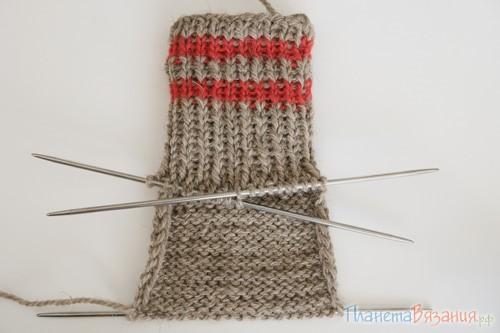 Как вязать носки спицами для начинающих