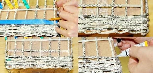 Плетение из бумаги для начинающих