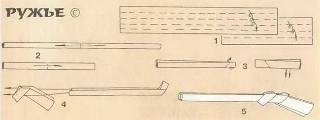 Схема как сделать пистолет фото 490