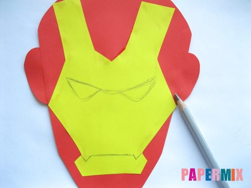 1527089469_maska-zheleznogo-cheloveka-iz-bumagi-8 Как сделать маску из бумаги своими руками. Маски на голову из бумаги — шаблоны, схемы. Как сделать объемную маску из бумаги