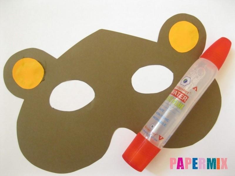 1527089473_maska-medveda-iz-bumagi-7 Как сделать маску из бумаги своими руками. Маски на голову из бумаги — шаблоны, схемы. Как сделать объемную маску из бумаги