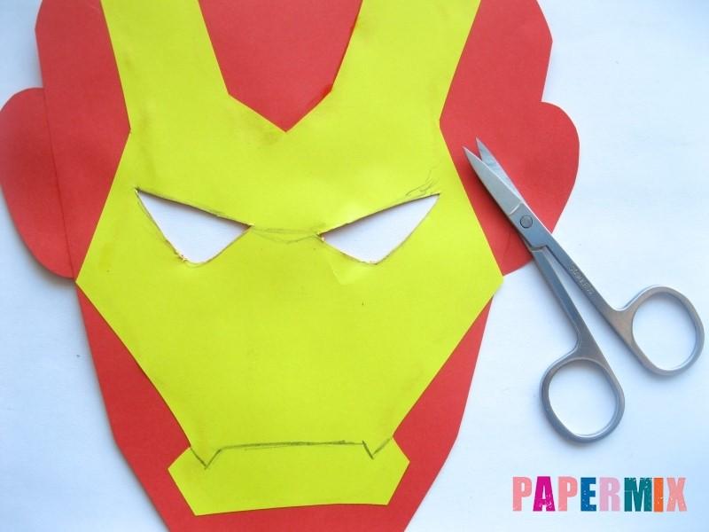 1527089495_maska-zheleznogo-cheloveka-iz-bumagi-9 Как сделать маску из бумаги своими руками. Маски на голову из бумаги — шаблоны, схемы. Как сделать объемную маску из бумаги