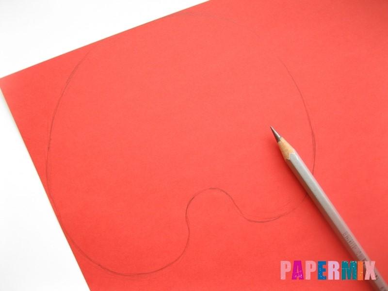 1527089506_maska-cheloveka-pauka-iz-bumagi-3 Как сделать маску из бумаги своими руками. Маски на голову из бумаги — шаблоны, схемы. Как сделать объемную маску из бумаги