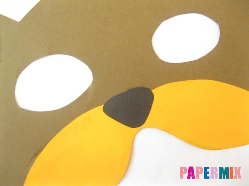 1527089519_maska-medveda-iz-bumagi-11 Как сделать маску из бумаги своими руками. Маски на голову из бумаги — шаблоны, схемы. Как сделать объемную маску из бумаги