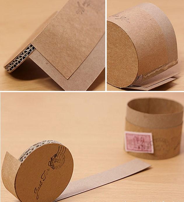 Как сделать коробку для цветов из картона
