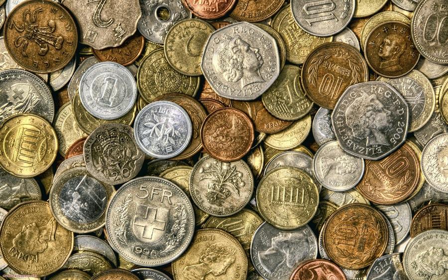 Необычное применение обычных монет